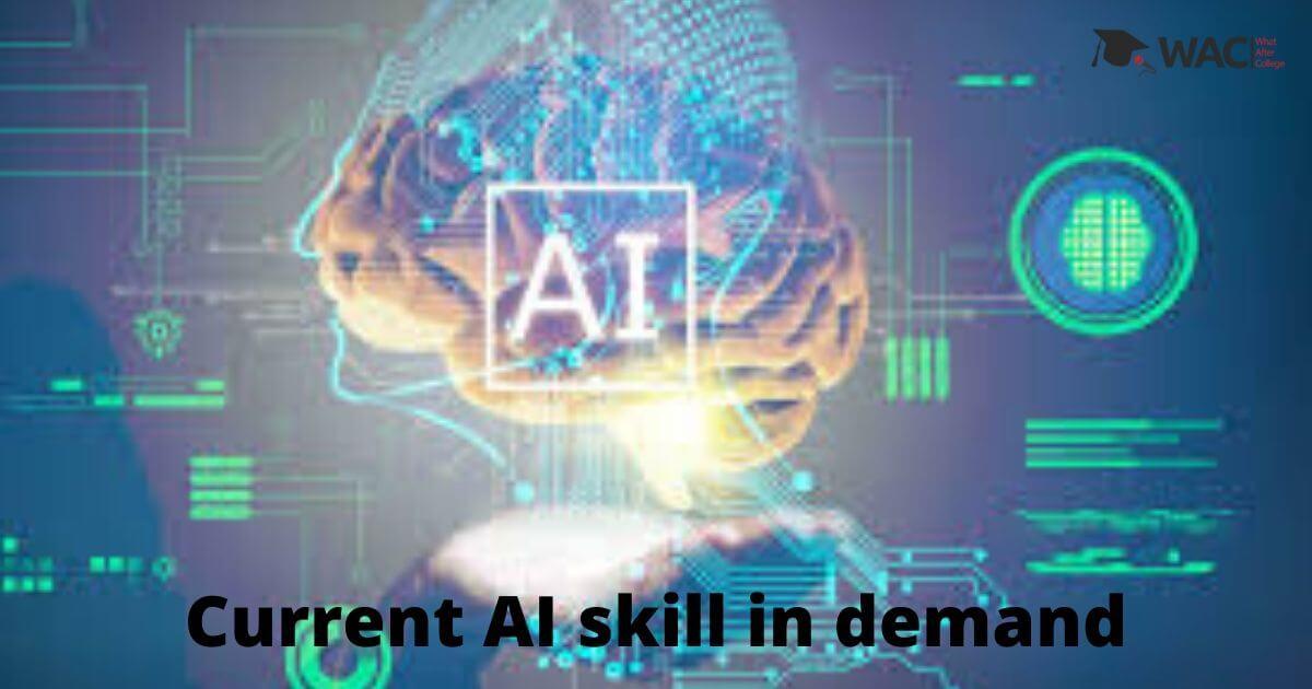 AI skills in demand