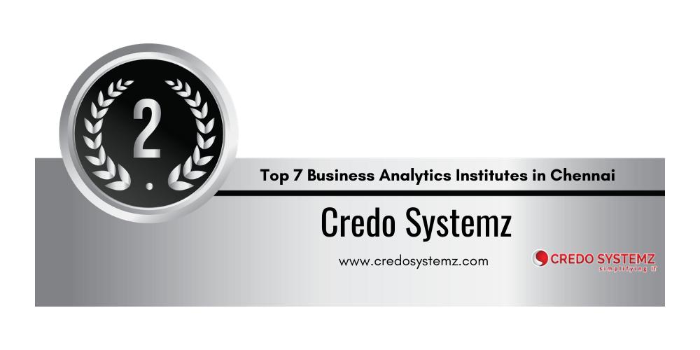 Top 7 Training Institutes of Business Analytics in Chennai