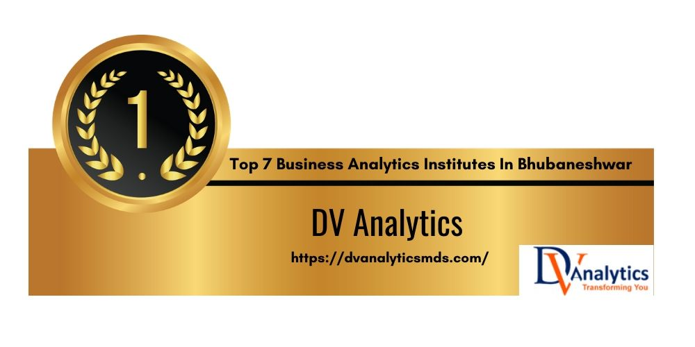 Top 7 Training Institutes of Business Analytics in Bhubaneshwar