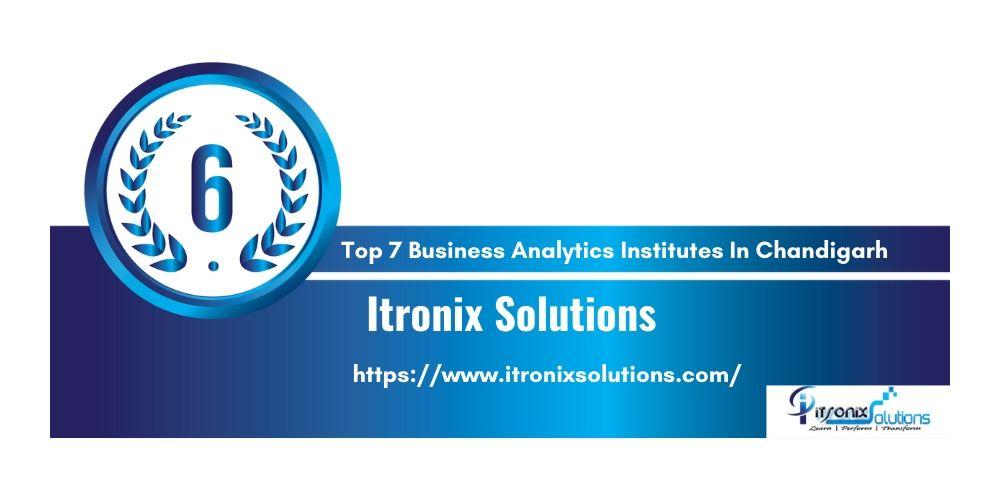 Top 7 Training Institutes of Business Analytics in  Chandigarh