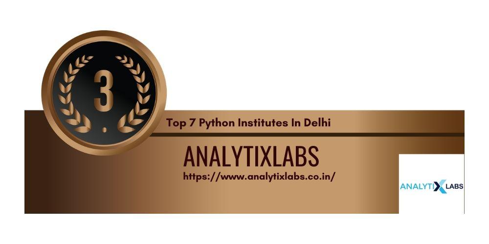 Python Institutes in Delhi