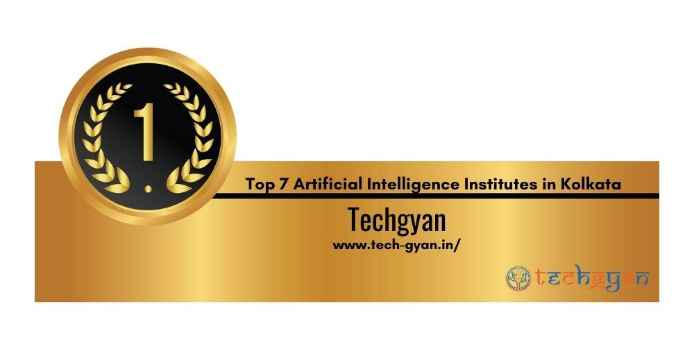 Rank 1 Best Artificial intelligence institute in kolkata