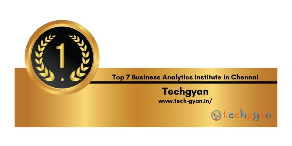 Rank 1 Best Business Analytics Institutes in Chennai