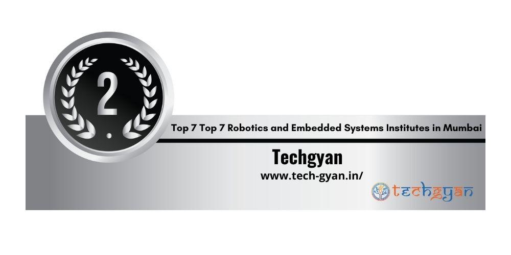 Rank 2 robotics and embedded system institutes in Mumbai
