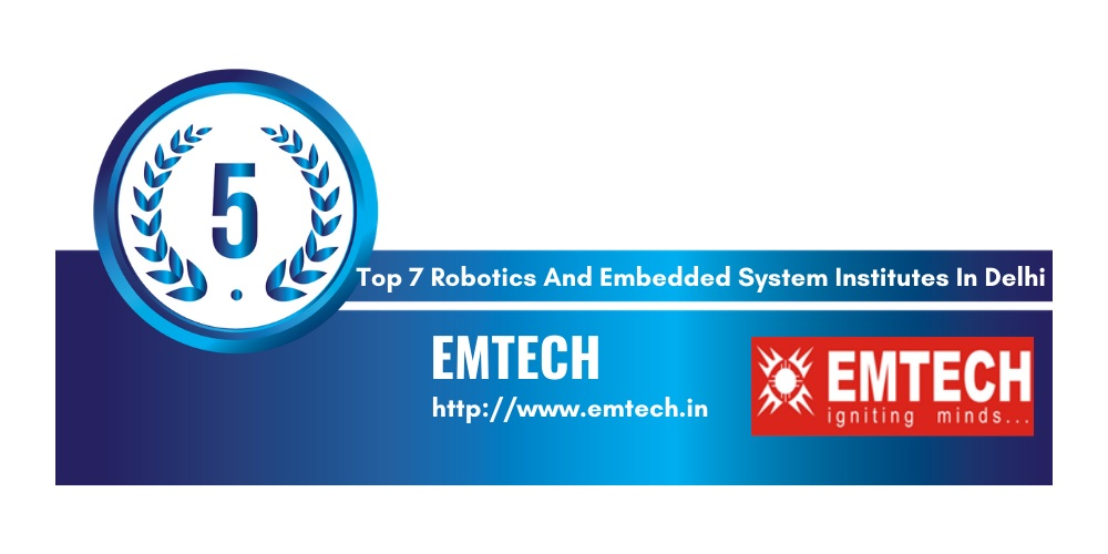 robotics and embedded systems institutes in Delhi