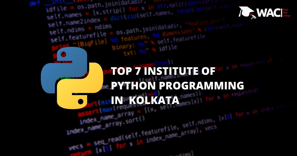 Top 7 training institutes of python in kolkata