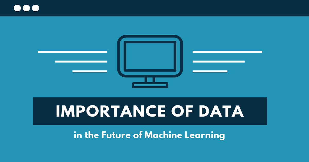 importance of machine data