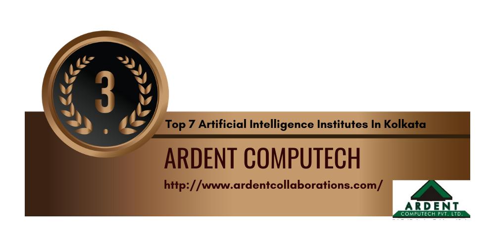 Top 7 Artificial Intelligence Institutes in Kolkata