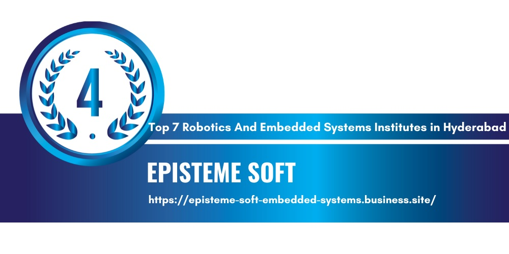 robotics and embedded systems institute in Hyderabad