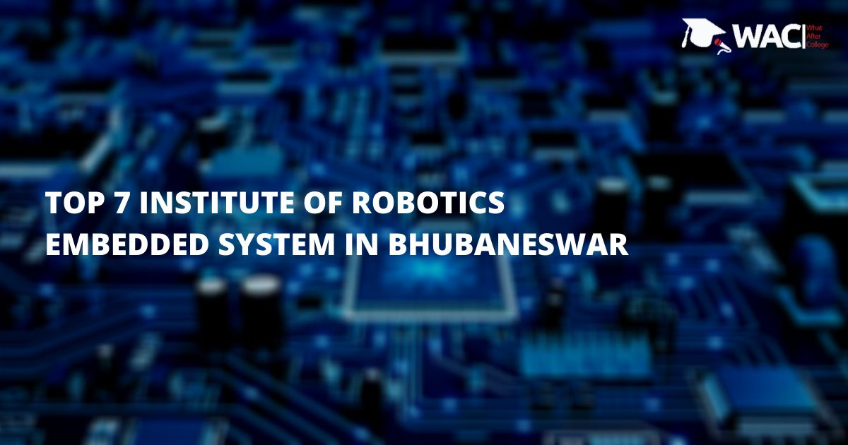 robotics and embedded systems in Bhubaneswar