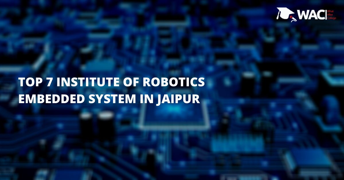 robotics and embedded systems institutes in Jaipur