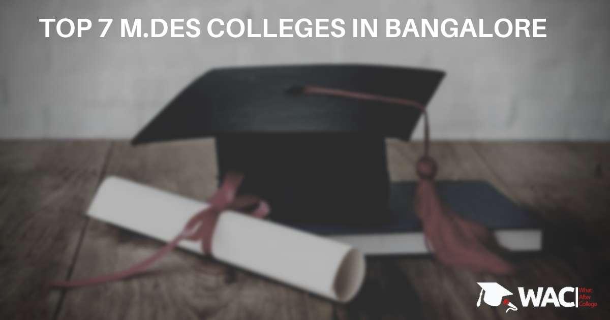 Master Of Design College in Bangalore