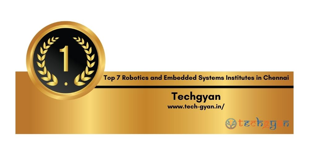 Rank 1 robotics and embedded systems institutes in Chennai