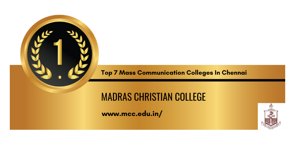 Top 7 Mass Communication Colleges In Chennai