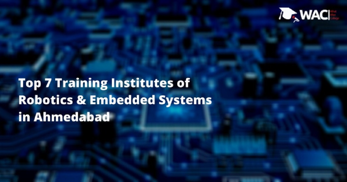 Robotics and Embedded Systems in Ahmedabad
