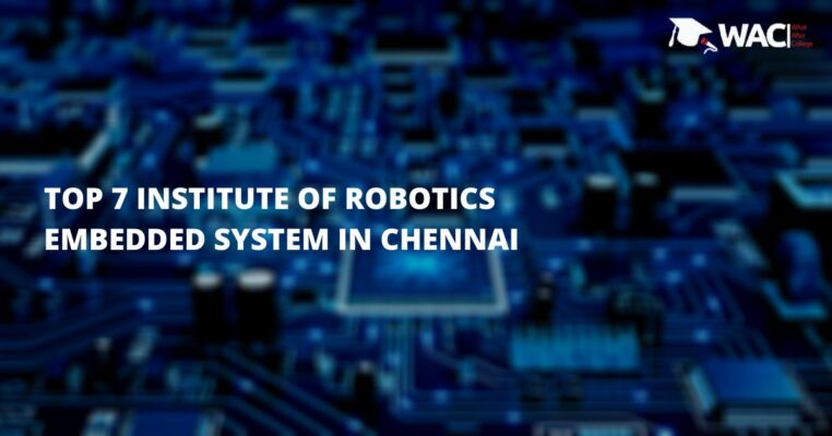 robotics and embedded systems institutes in Chennai