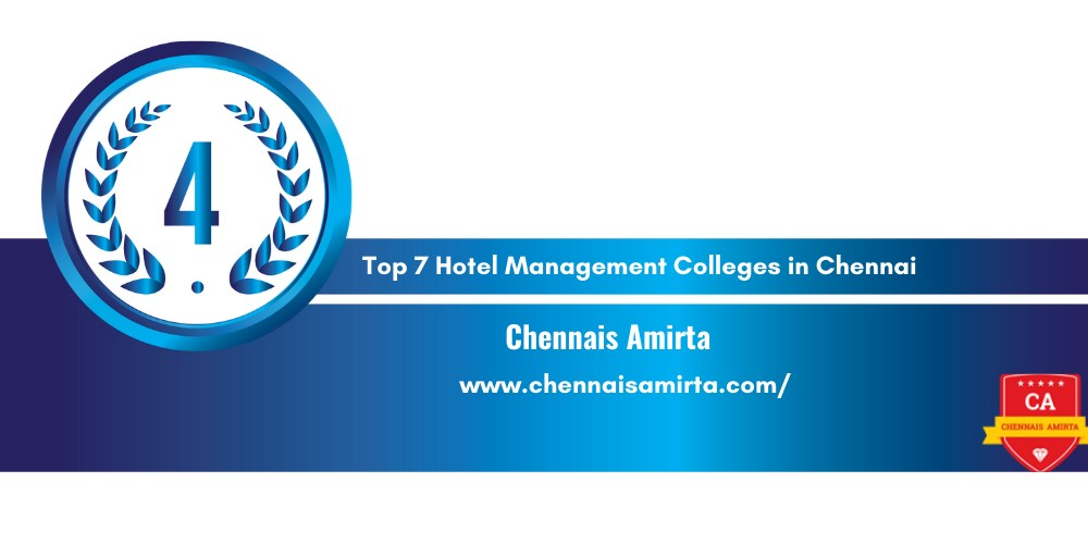 Hotel Management Colleges in Chennai