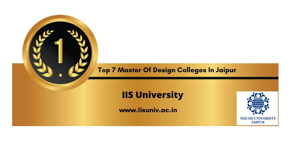 Master of design College in Jaipur