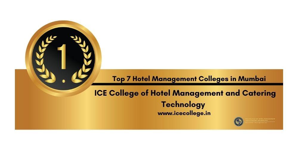 Rank 1 Best Hotel Management Colleges in Mumbai