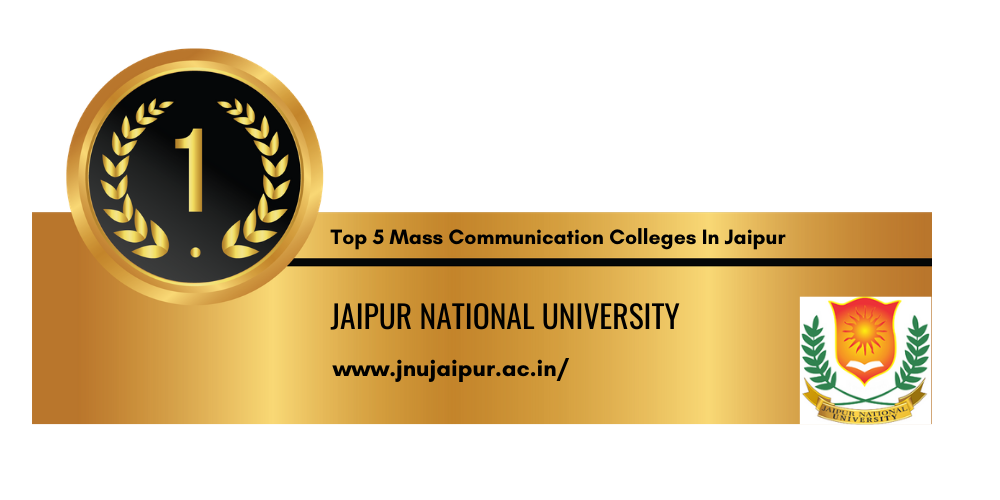 Top 5 Mass Communication Colleges In Jaipur