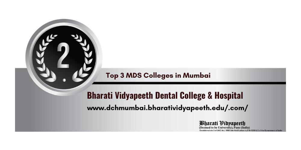 MDS colleges in Mumbai