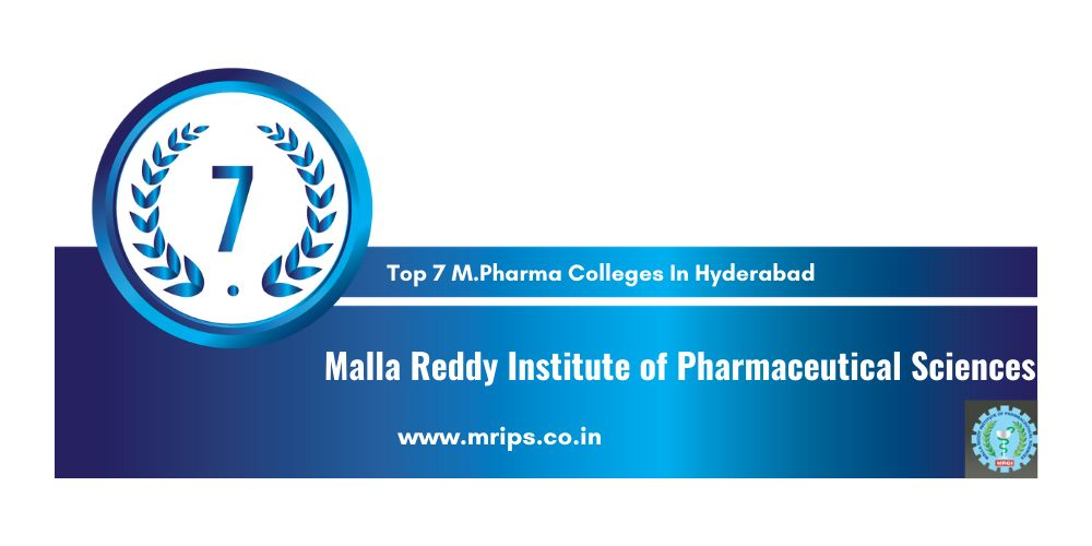 Top M.Pharma Colleges in Hyderabad
