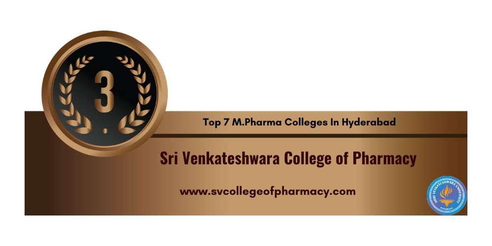 M.Pharma College in Hyderabad