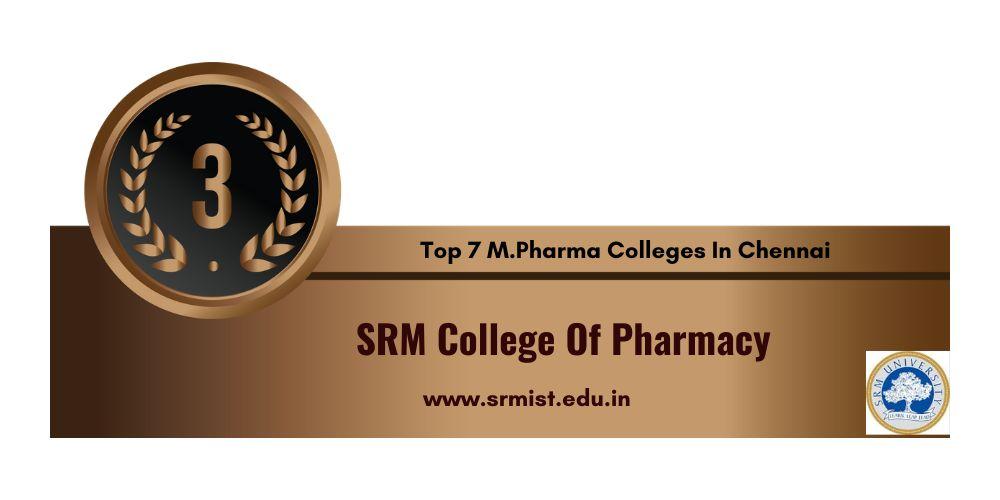 M.Pharma Colleges in Chennai