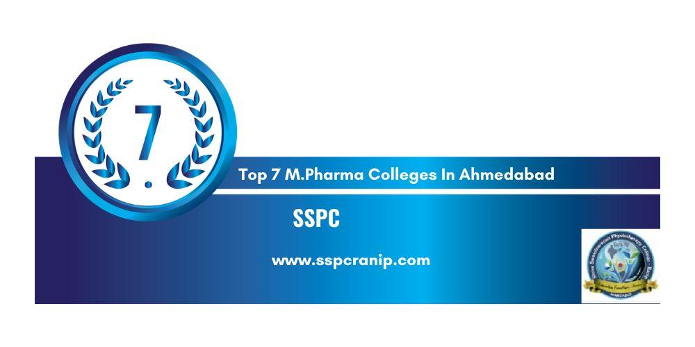 M.pharma College in Ahmedabad