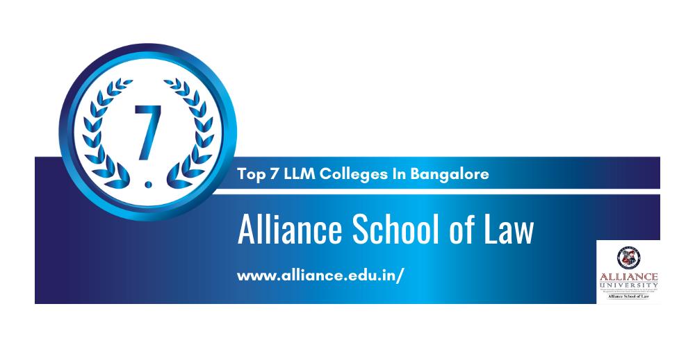 Alliance School of Law Bangalore