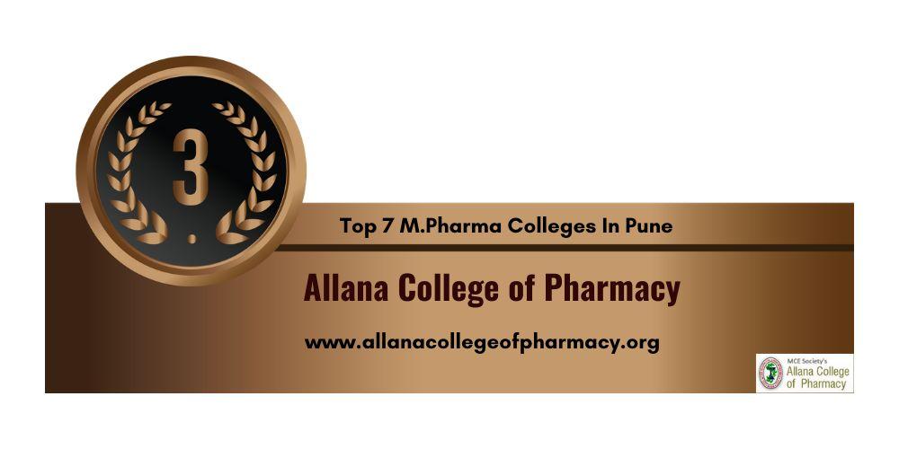 M.Pharma College in Pune