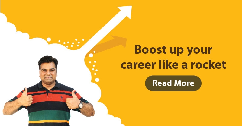 Boost up your career like a rocket