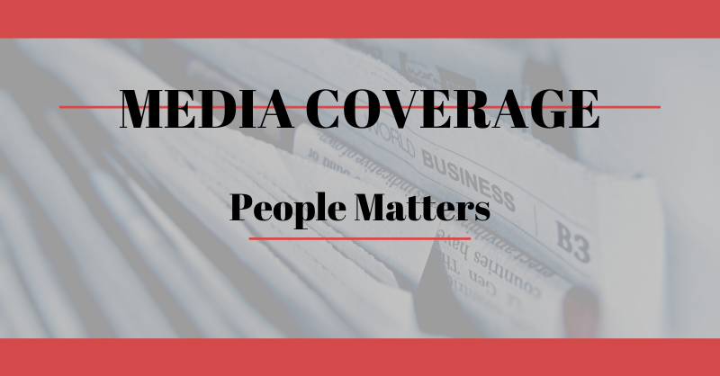 WAC Media Coverage - People Matters