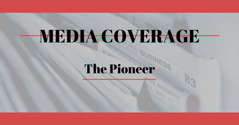 WAC Media Coverage – The Pioneer
