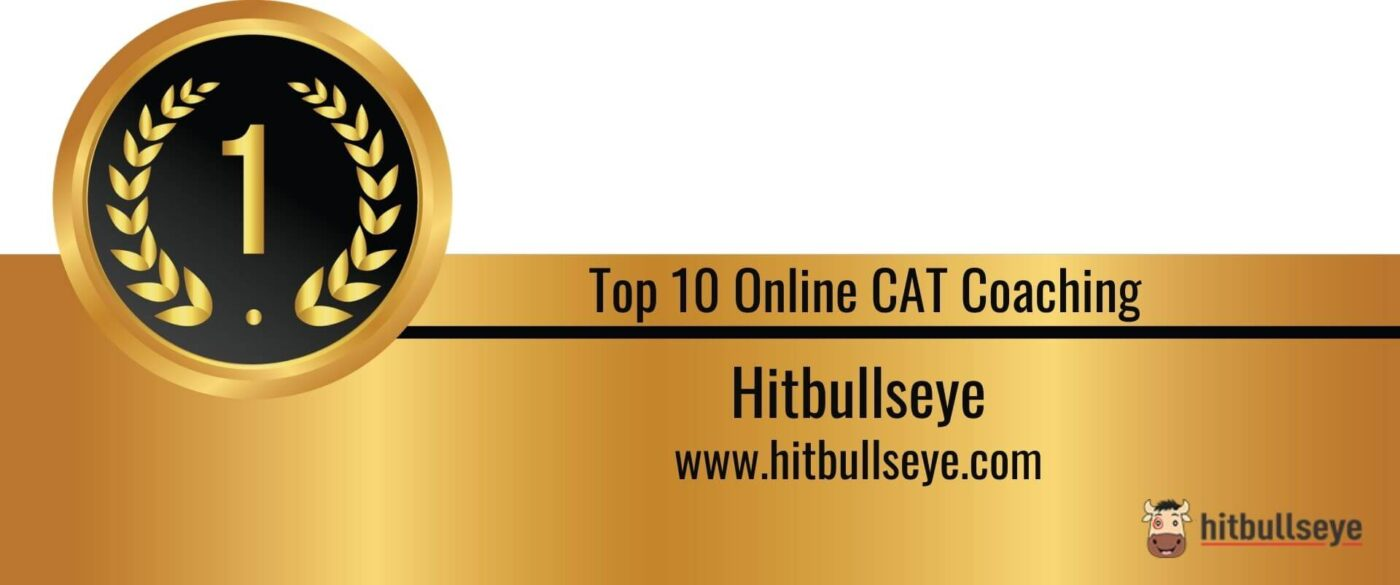 Rank 1 in the List of Top 10 Online CAT Coaching