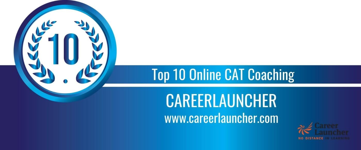 Rank 10 Top 10 Online CAT Coaching