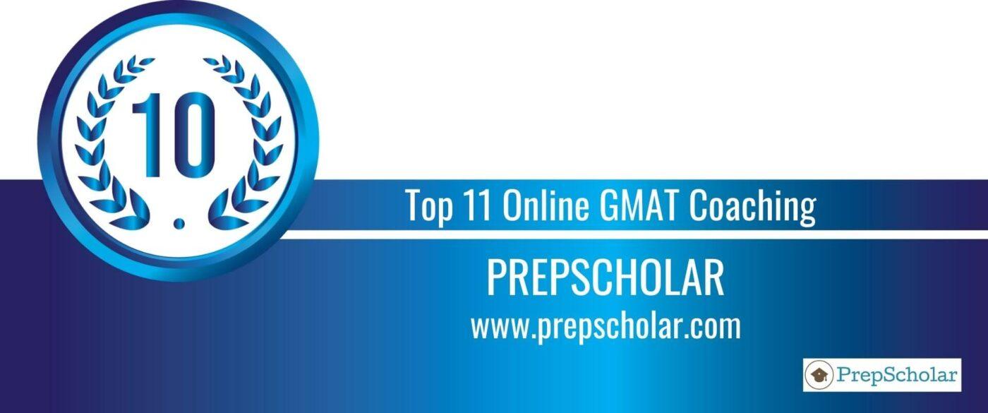 Rank 10 Top 11 Online GMAT Coaching