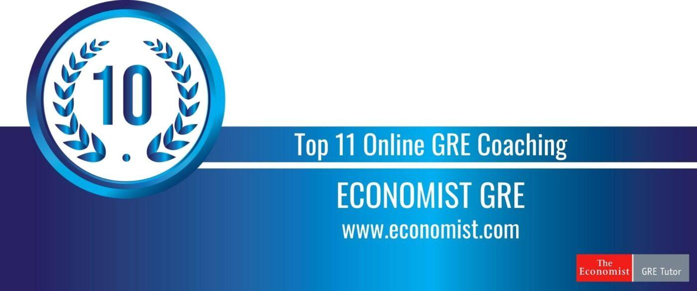Rank 10 Top 11 Online GRE Coaching