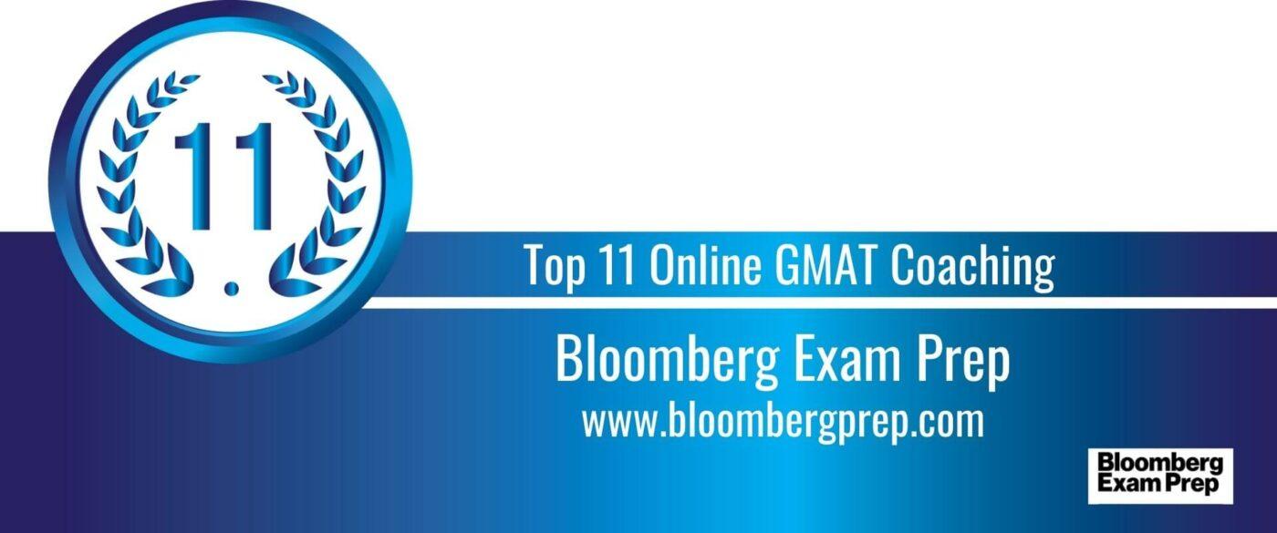 Rank 11 Top 11 Online GMAT Coaching