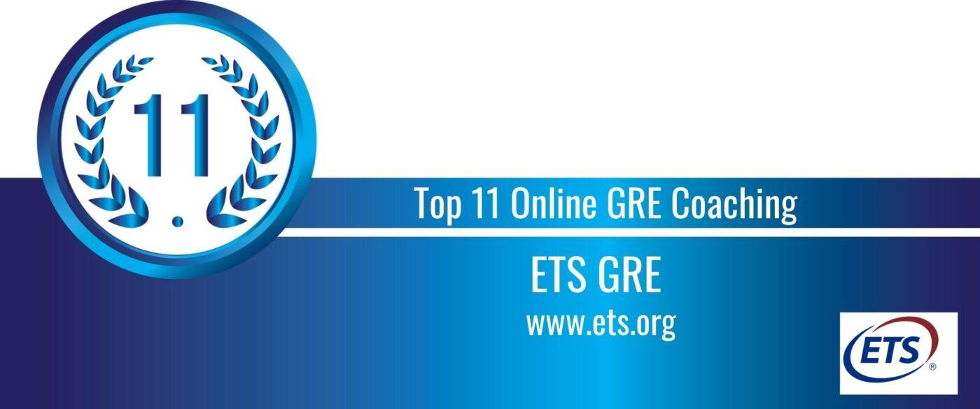Rank 11 Top 11 Online GRE Coaching
