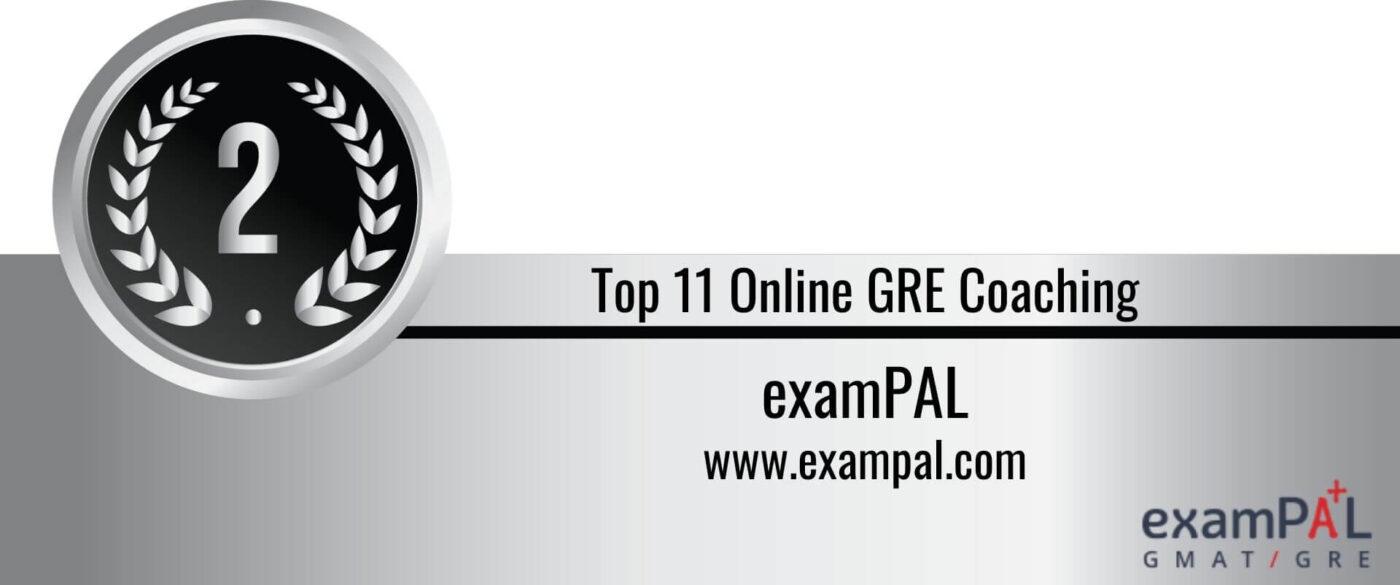 Rank 2 Top 11 Online GRE Coaching