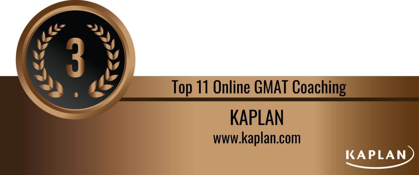 Rank 3 Top 11 Online GMAT Coaching