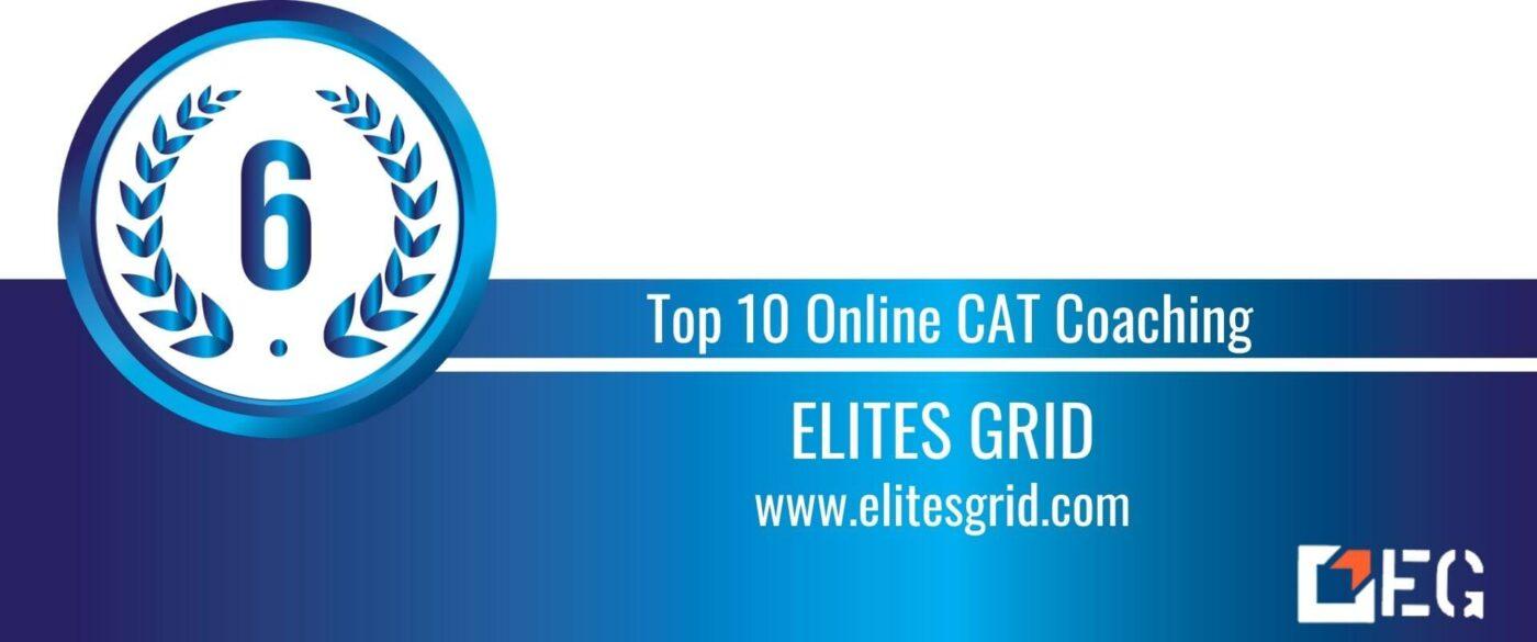 Rank 6 Top 10 Online CAT Coaching