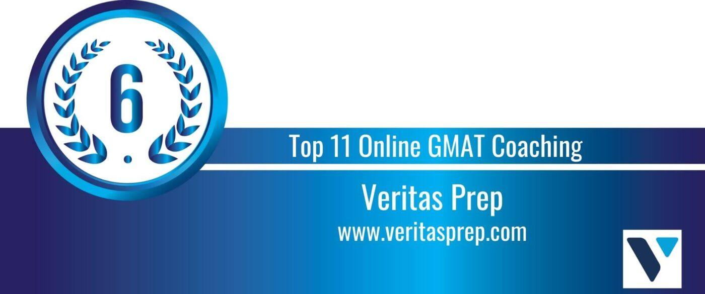 Rank 6 Top 11 Online GMAT Coaching