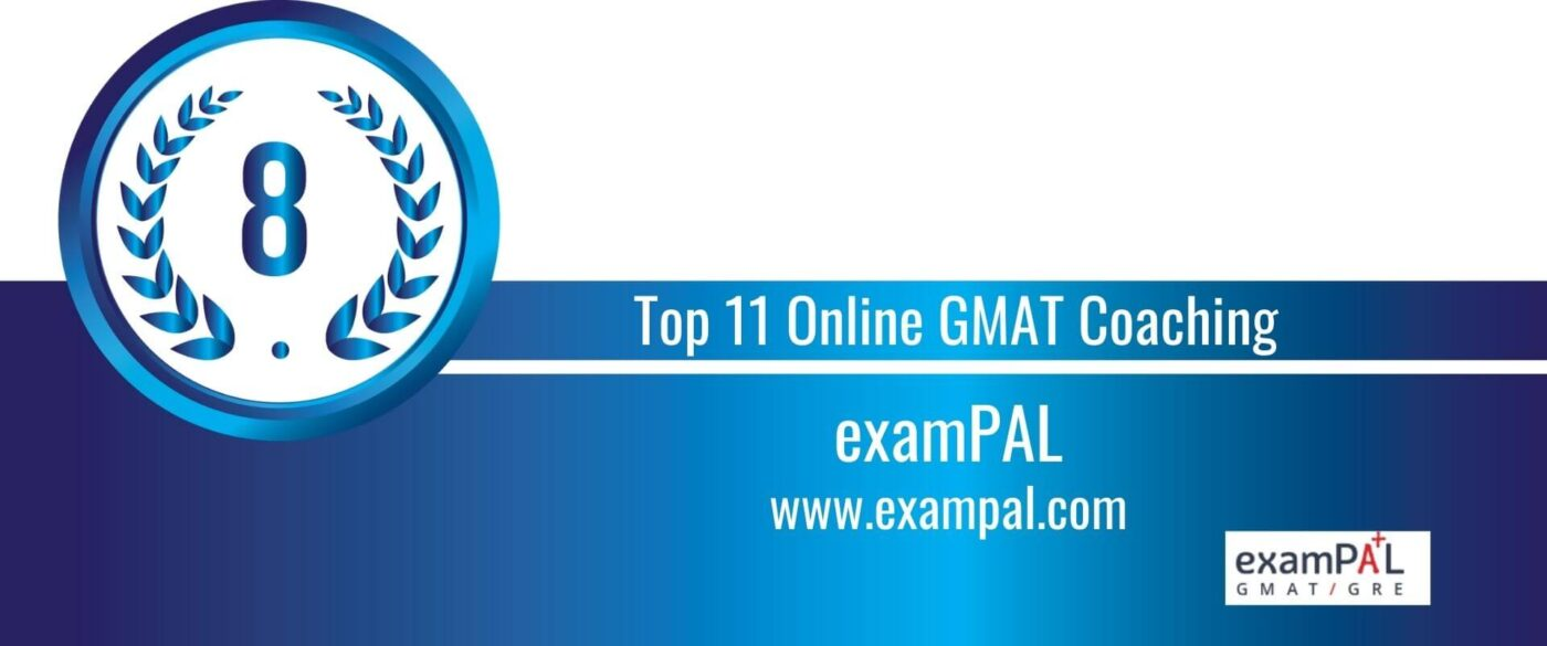 Rank 8 Top 11 Online GMAT Coaching