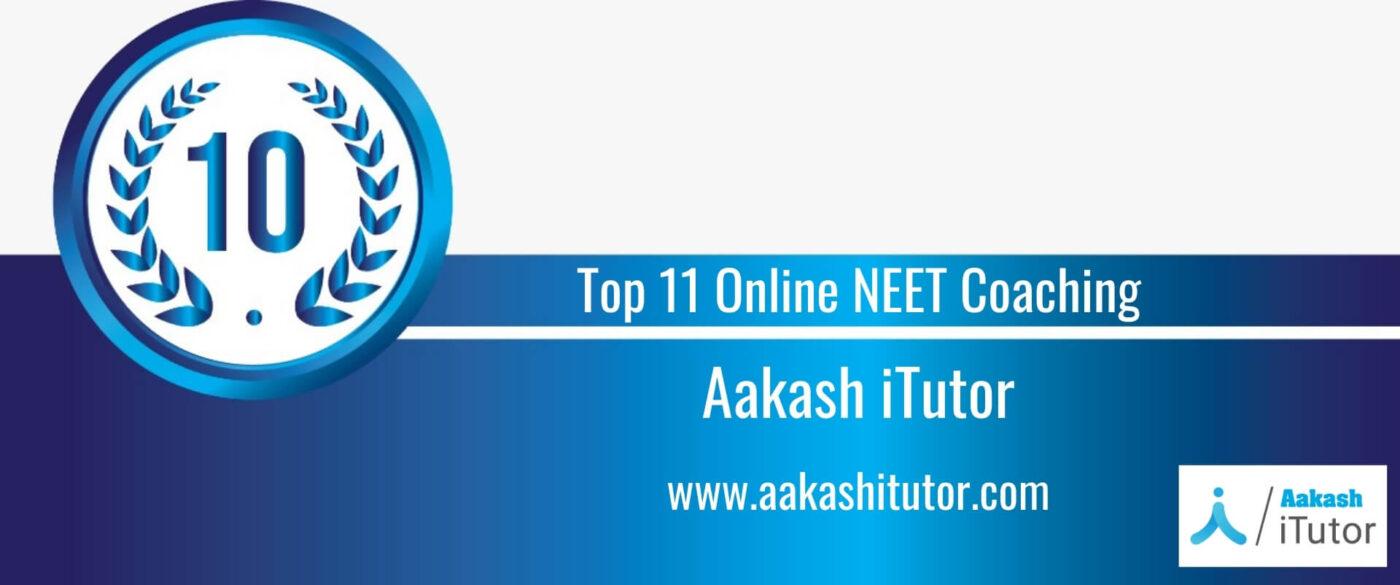 Rank 10 Top 11 Online NEET Coaching