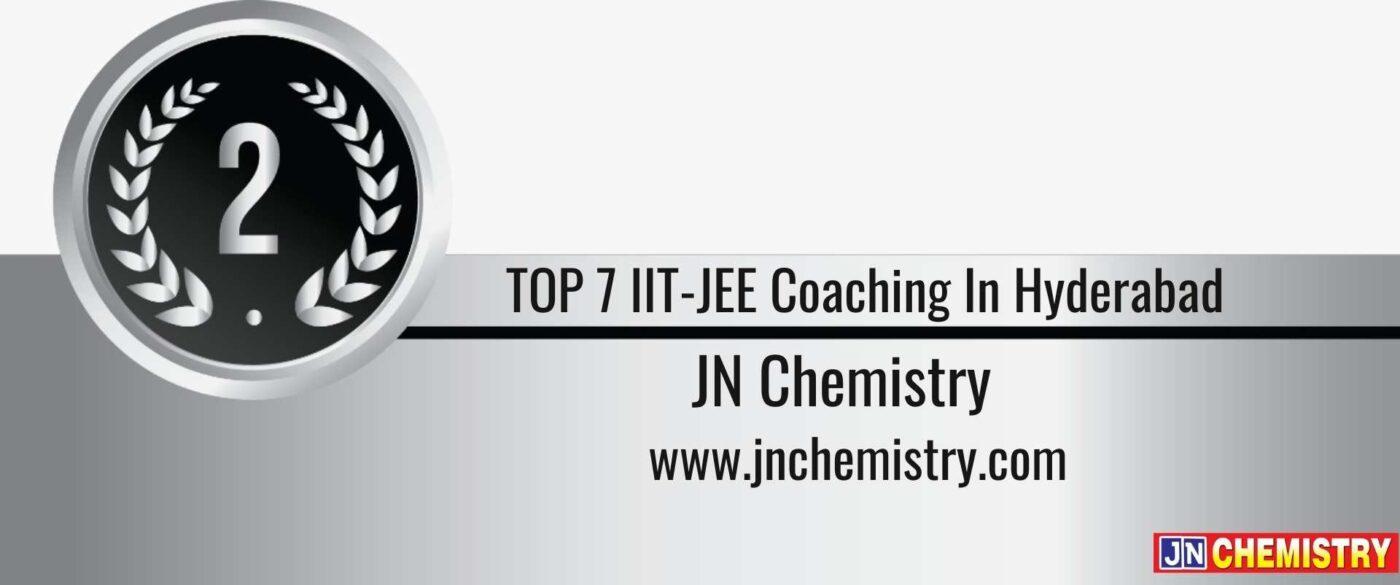 Rank 2 TOP 7 IIT-JEE Coaching In Hyderabad