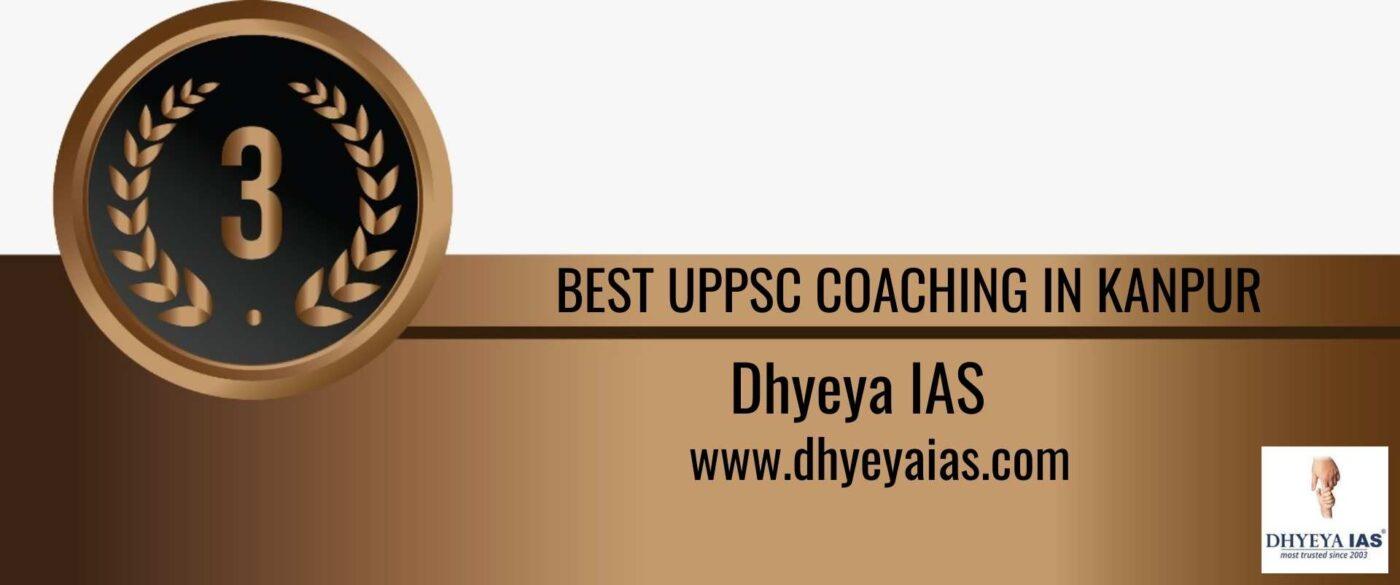 Rank 3 best uppsc coaching in kanpur