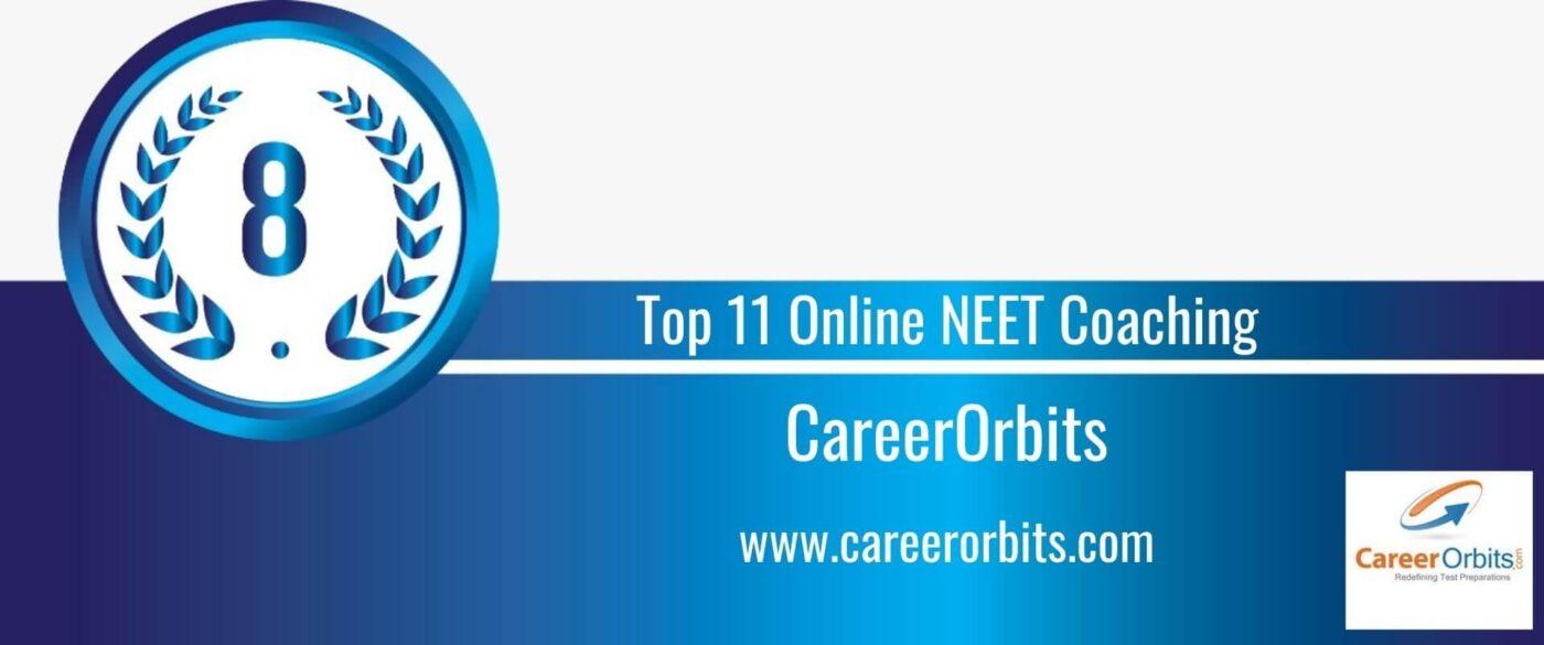 Rank 8 Top 11 Online NEET Coaching