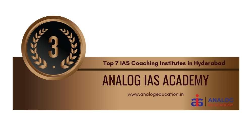 IAS Coaching in hyderabad rank 3